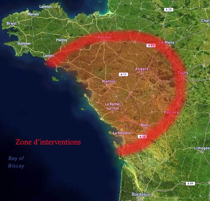 zones intervention technotraces